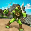 阴影 忍者 英雄 战士 龟