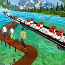 水上货运列车3D冲浪