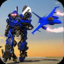 警察机器人飞机战争