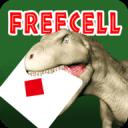 爽快トランプカードゲーム!恐竜フリーセル