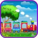 小火车铁路冒险:动物园动物之旅