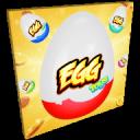 在鸡蛋惊喜玩具