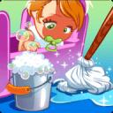 娃娃屋清洗游戏