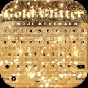 金闪光键盘表情符号