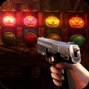 Halloween 3D pumpkin & bottle FPS shooting game