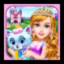 城堡公主宫殿房间清理女孩游戏