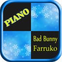 Bad Bunny ft Farruko Piano tiles