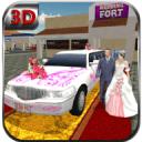 城市新娘轿车汽车模拟器