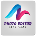 Photo Editor Lens Flare Effect
