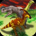 恐龙家庭模拟器 - 成为一个侏罗纪的dino!