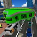 Gyroscopic巴士驾驶3D:未来公共交通