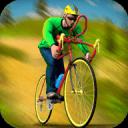 越野BMX自行车骑手