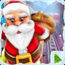 圣诞老人运行 - 圣诞地铁冲浪