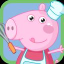 小豬佩奇做蛋糕