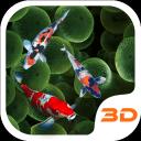 KOI Lucky Fish 3D Theme