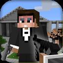 Mine Gun 3d  (Minecraft Style)