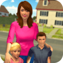 Virtual Mom Babysitter: Family Fun Time