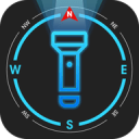 Flashlight Compass with Sounds