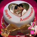 周年紀念蛋糕名稱照片 - 情侶框架高清