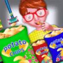 土豆薯片厂为孩子们