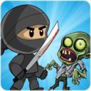 忍者剑与像素僵尸