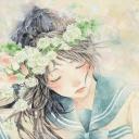 【周三福利】少女与花