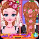 婚礼发型游戏