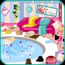 Clean up spa salon