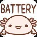 Axolotl Battery Widget GACHA