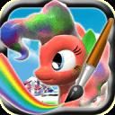 Little Pony Coloring Paint Creator 3d for Kids