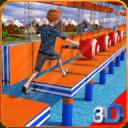 Stuntman Run - 水上公园3D