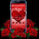 紅玫瑰花瓣主題
