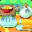制作奶油生日蛋糕