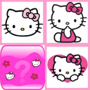 Hello Kitty记忆卡片