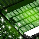 键盘绿色杂草