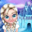 冬季城堡 - 公主游戏与家居装饰