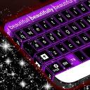 紫色霓虹灯键盘免费