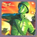玩具军人绿色军事行动