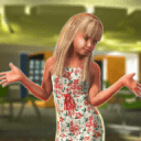 Virtual School Girl: American Family Simulator