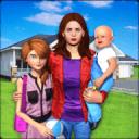 Virtual Family New Baby Single Mom Adventure