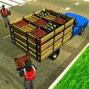 越野水果运输车卡车:驾驶模拟器