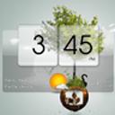 3D Flip Clock Theme Pack