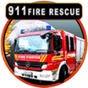 911消防车紧急救援