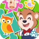 宝宝拼图学英文-动物集合