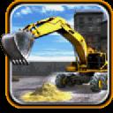 沙挖掘机运输辛