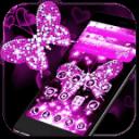 粉紅鑽石蝴蝶主題