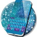 键盘颜色金葱主题