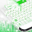 键盘绿色主题
