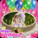 生日 照片 编辑 蛋糕