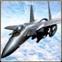 喷气式战斗机空袭 - 飞机空战3D